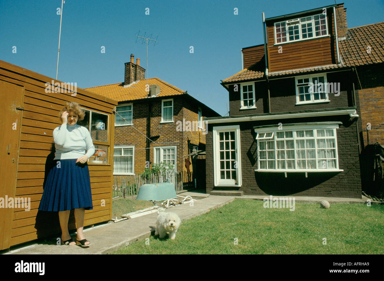 ex council homes now owner occupied south london home improvements rh alamy com house_owner in jail house_owner ross