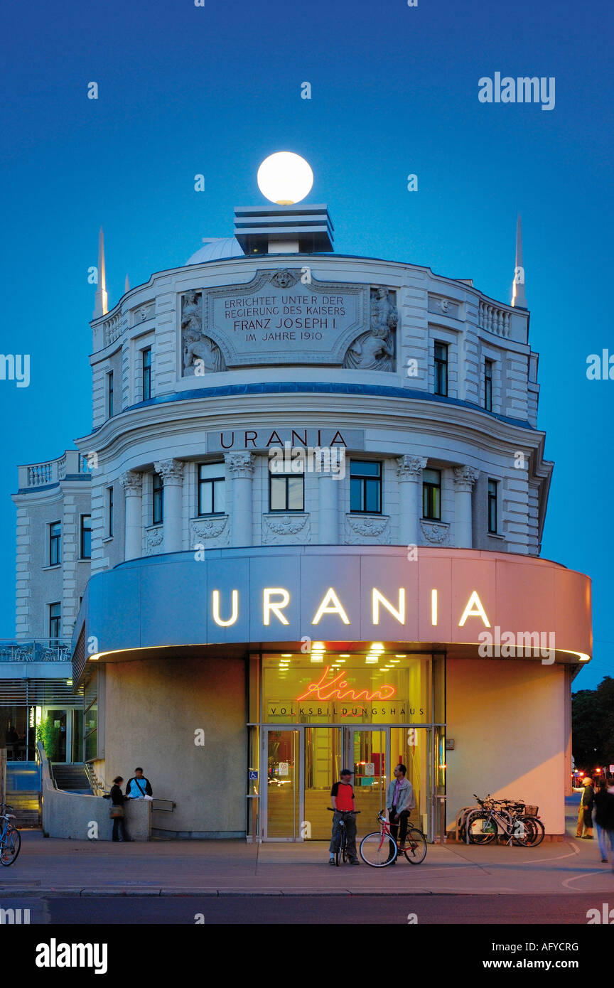 VIENNA CINEMA, AUSTRIA - Stock Image