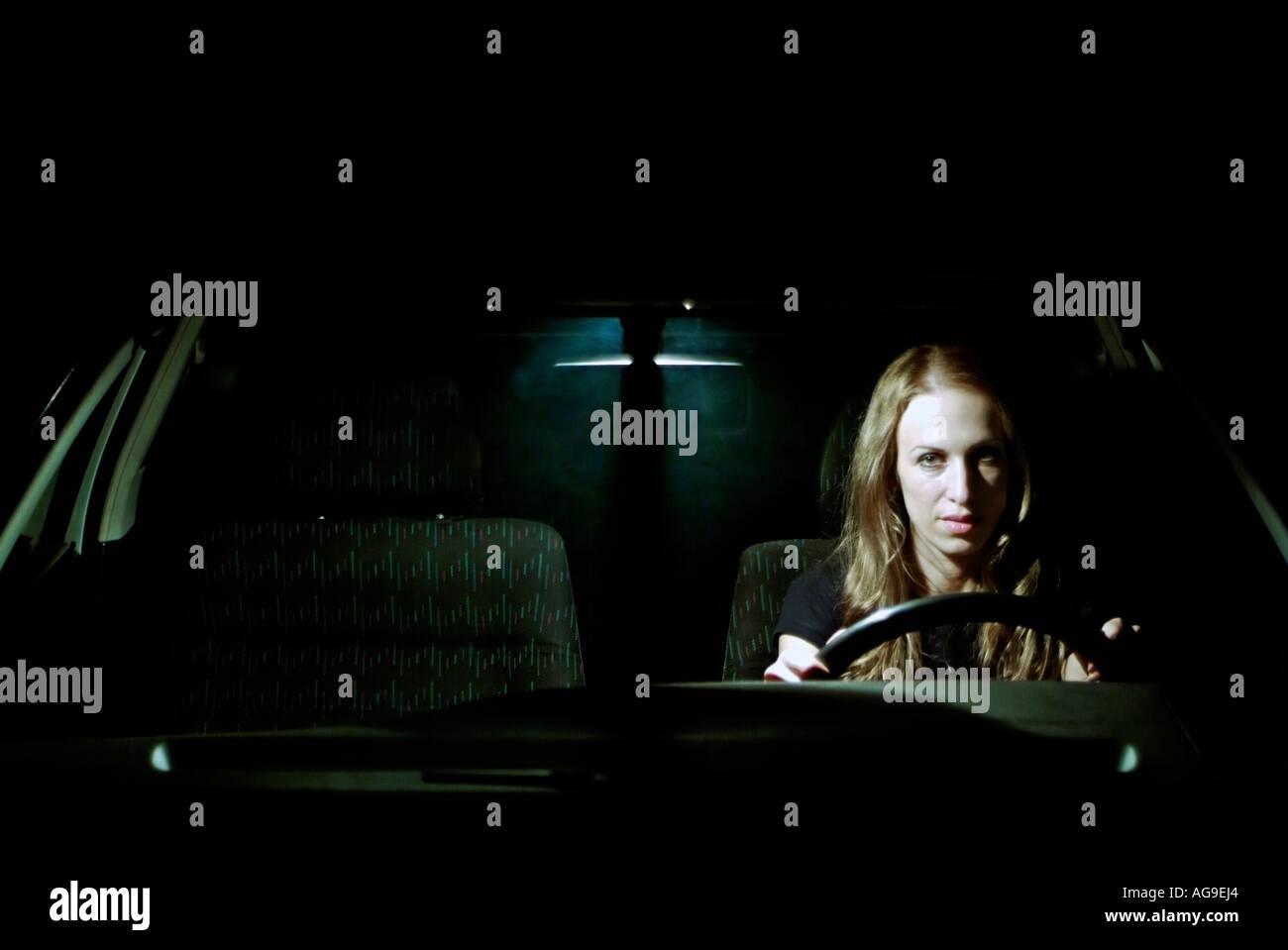 Driving Through The Night Stock Photos & Driving Through ...