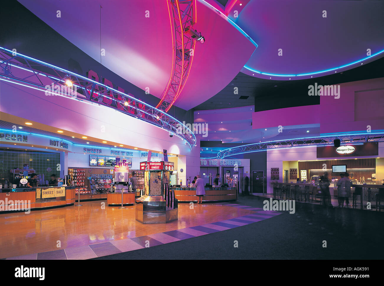 The Gate cinema Newcastle Upon Tyne UK - Stock Image