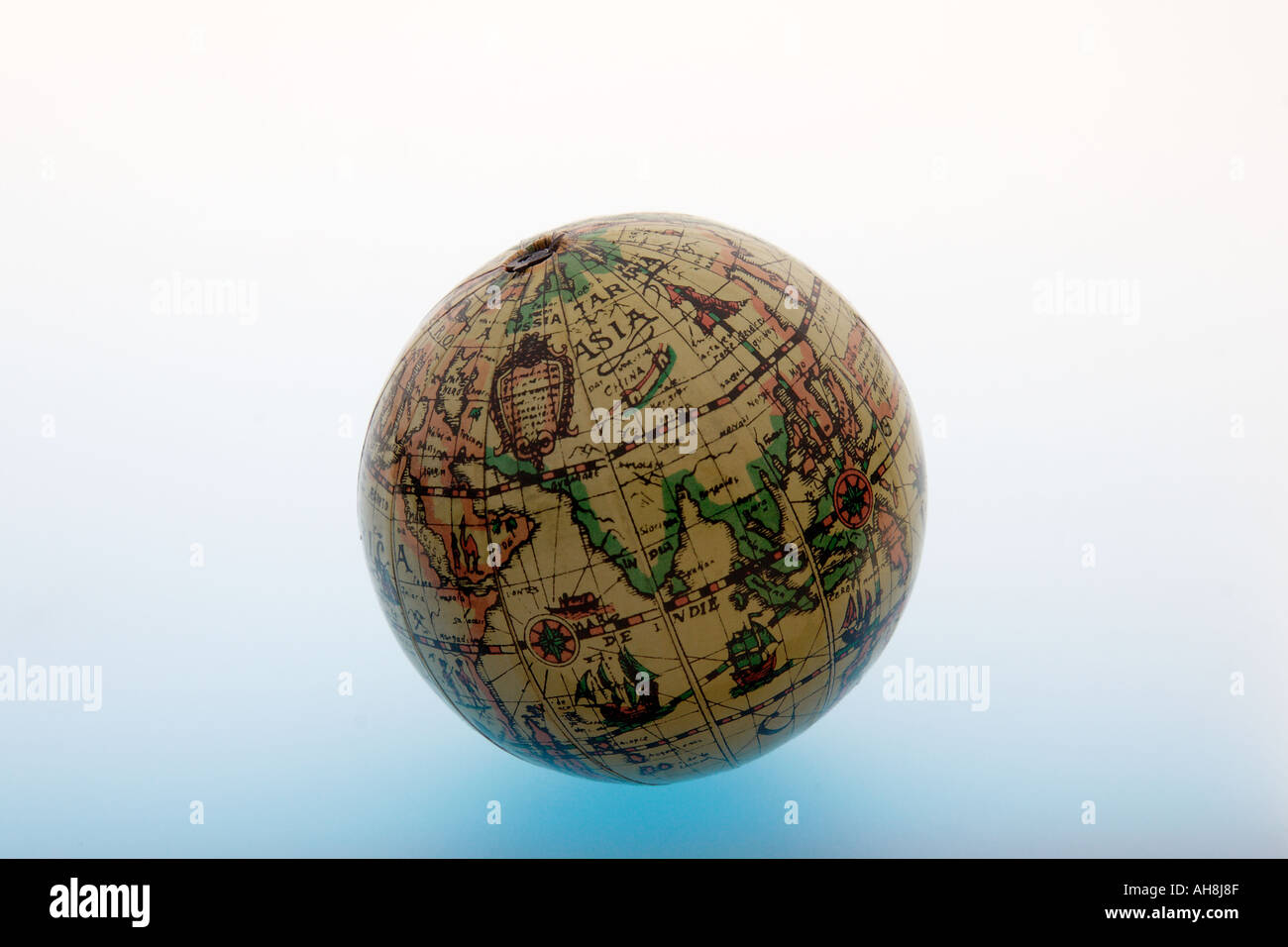 Aad71459 round spherical globe of ball shape of old world map aad71459 round spherical globe of ball shape of old world map showing earth asia indian ocean india on white background gumiabroncs Gallery