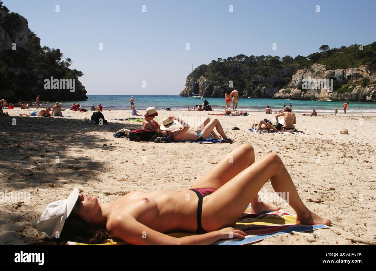 menorca nude beaches