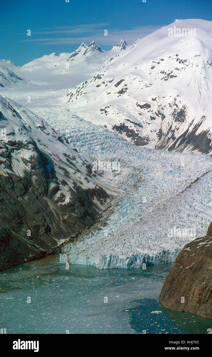 USA Alaska Glacier Bay. Photo by Willy Matheisl - Stock Image