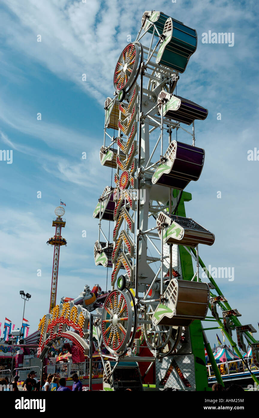 Carnival rides San Diego County Fair Del Mar California ...