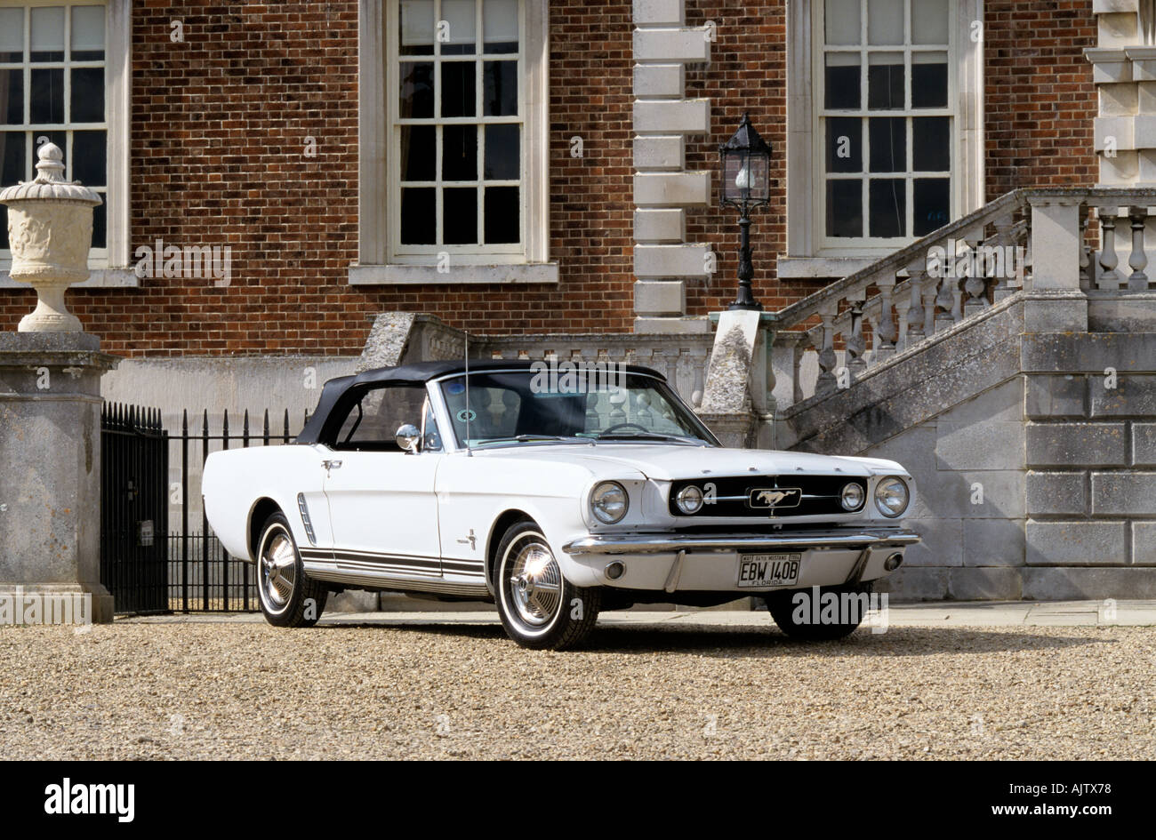 Ford Mustang Convertible Of 1964 And A Half Stock Photo 4835959 Alamy