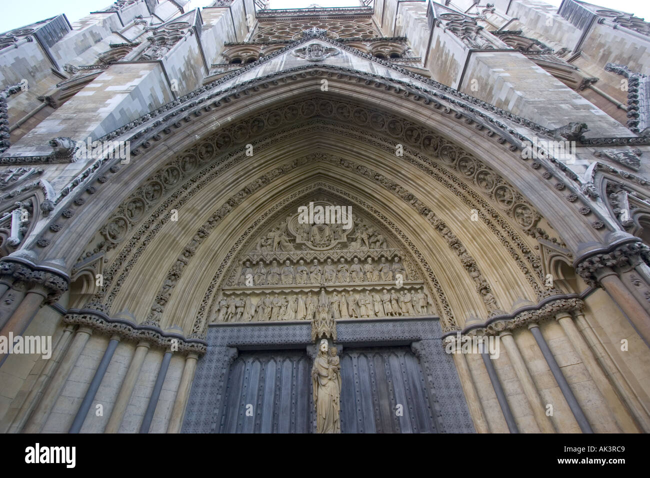 Doors to Westminster Abbey London England GB UK EU & Doors to Westminster Abbey London England GB UK EU Stock Photo ...