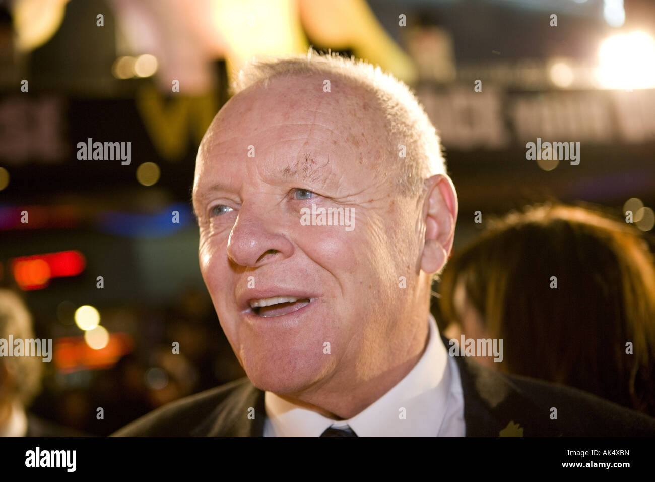 Beo Wulf  - European film premiere London leicester sqaure, starring Sir anthony hopkins - Stock Image