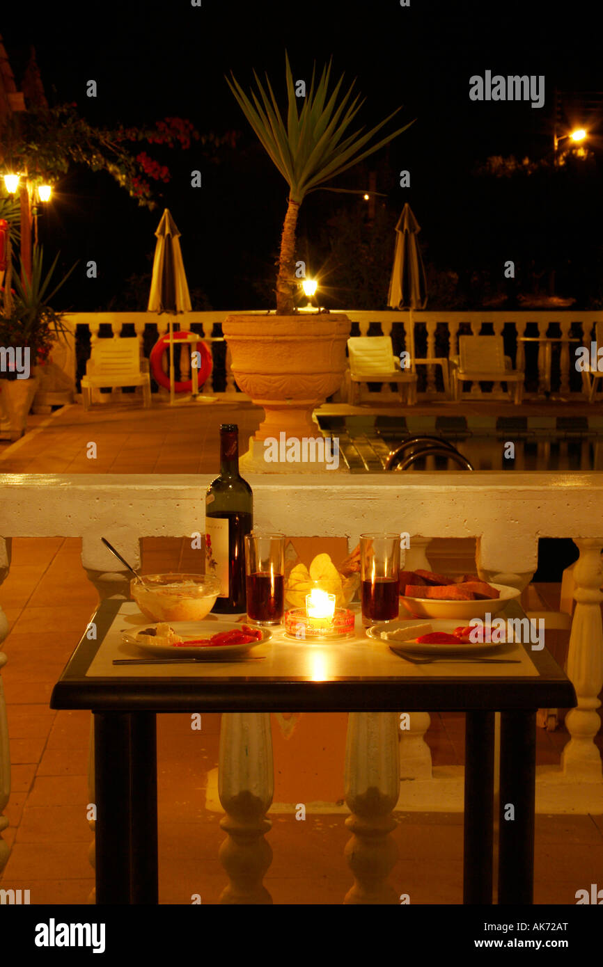 a romantic table for 2 in alykes zakynthos greece stock photo rh alamy com table for 200 table for 2 for sale