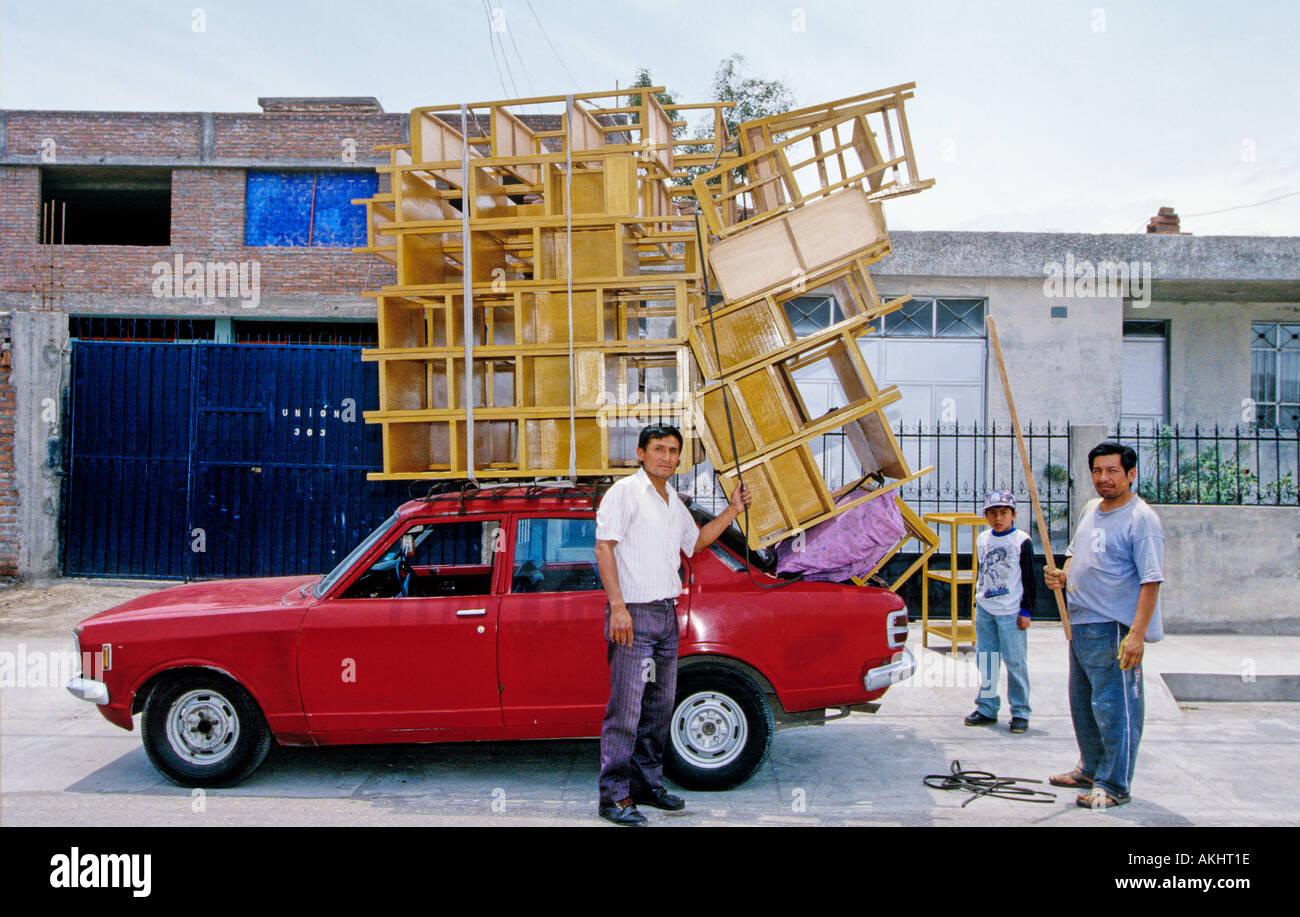 Hauling Huge Load Furniture Arequipa Peru