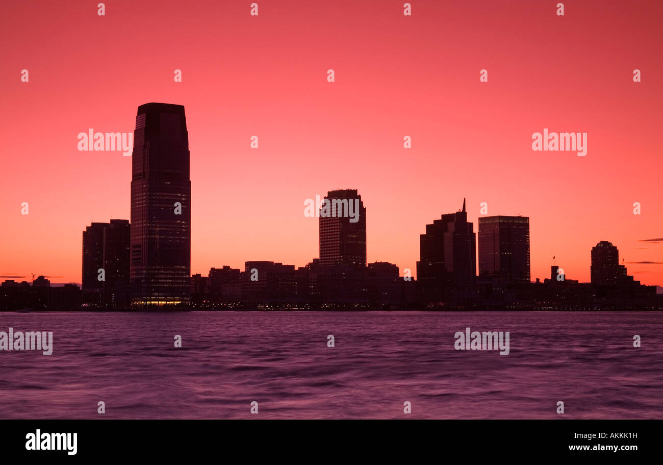Goldman Sachs Tower at Jersey City, New York City, New York, USA - Stock Image
