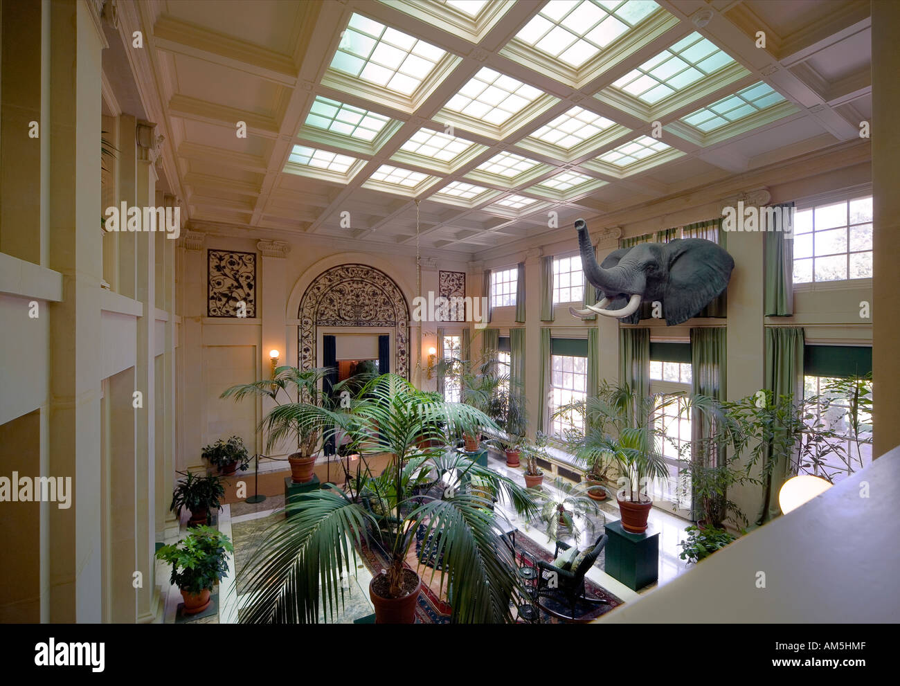 Rochester NY George Eastman House International Museum of Photography and Film Stock Photo