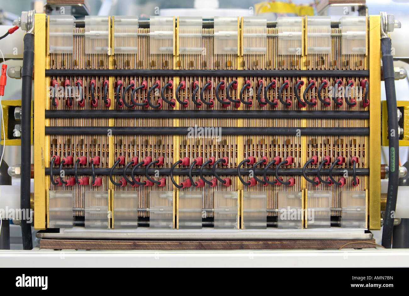 A fuel cell stack, Juelich, Germany - Stock Image