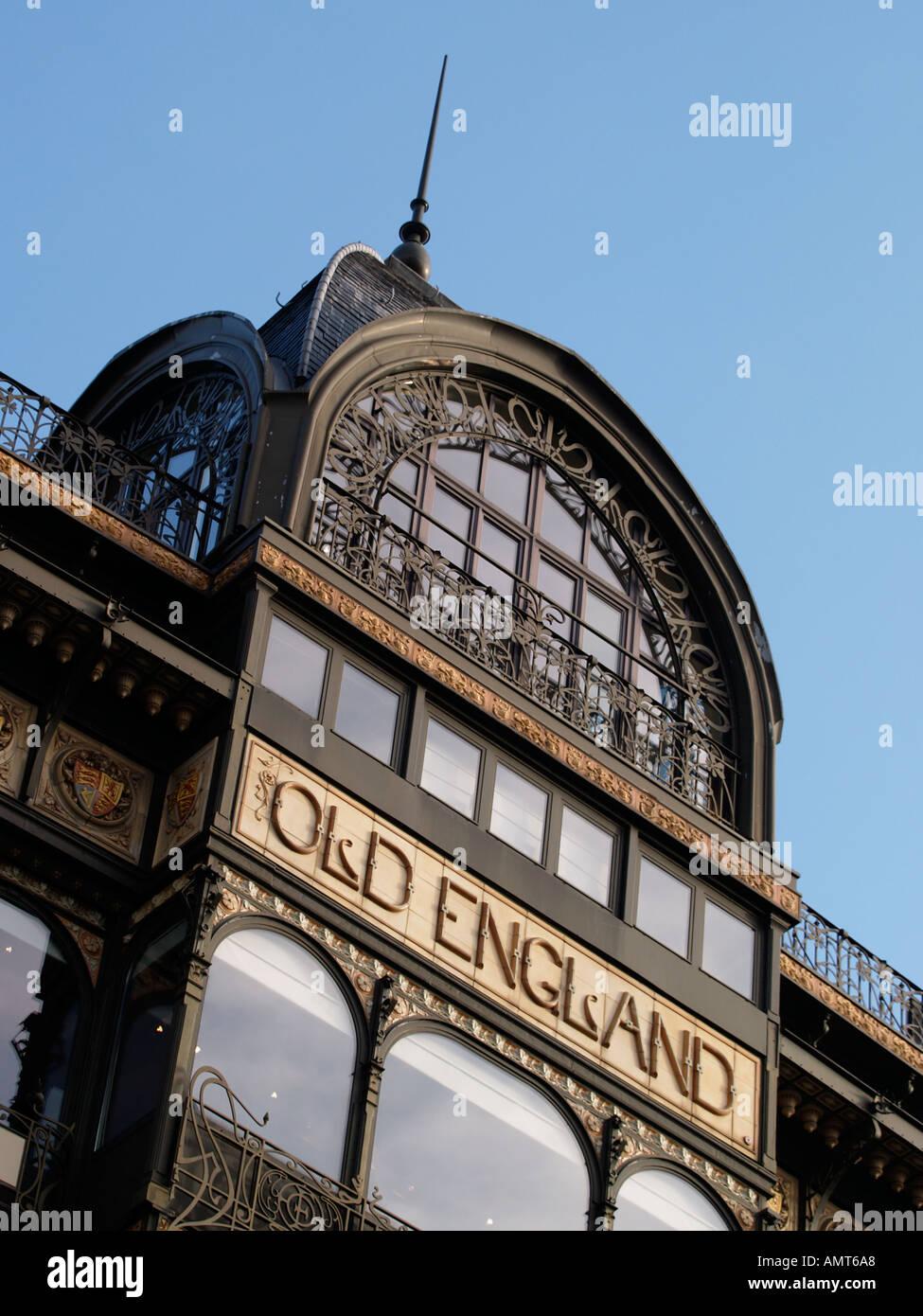 The Old England art deco art nouveau jugendstil building on the ...