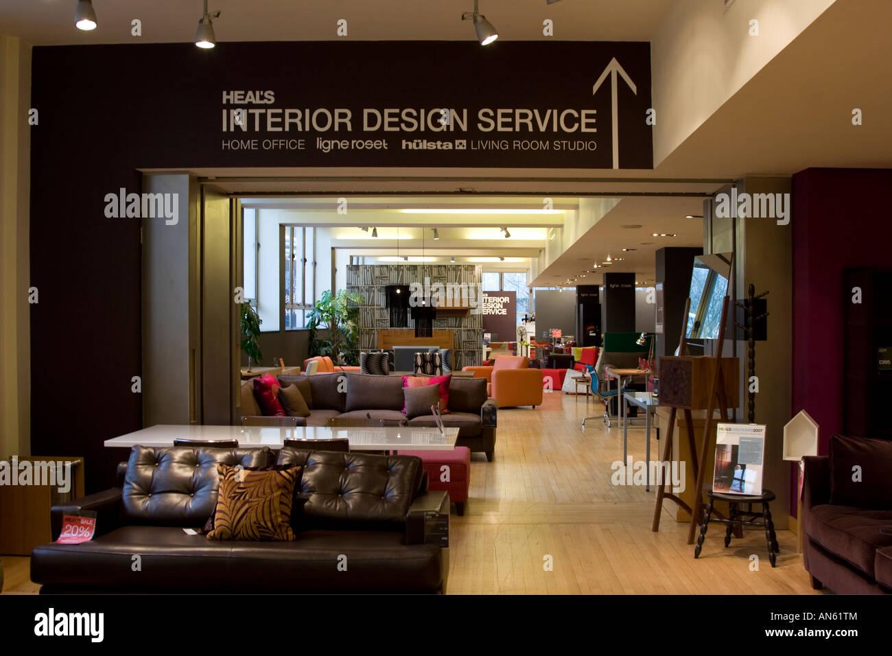 Heals furniture department store tottenham court road for Department stores that sell furniture