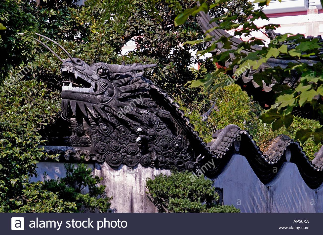 Dragon Wall Decoration - Stock Image