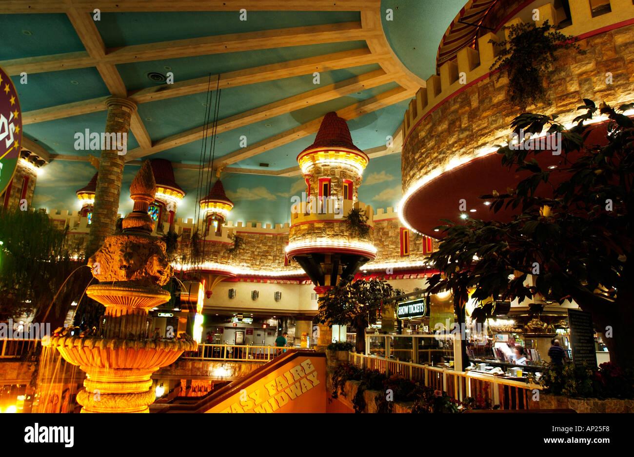 Excalibur Suite Floor Plan Interior Detail In Excalibur Hotel Las Vegas Stock Photo