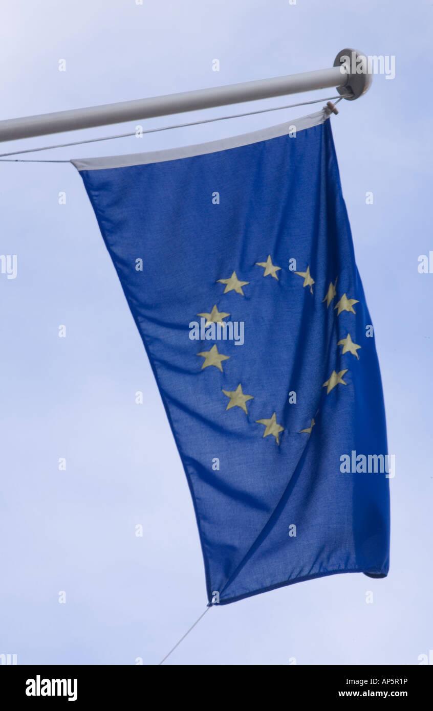 European Union flag - Stock Image