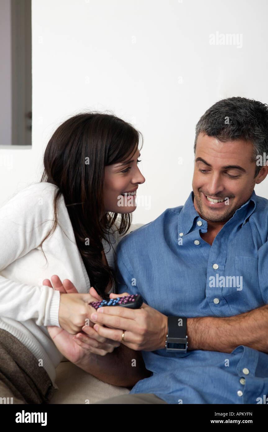 Couple portrait - Stock Image