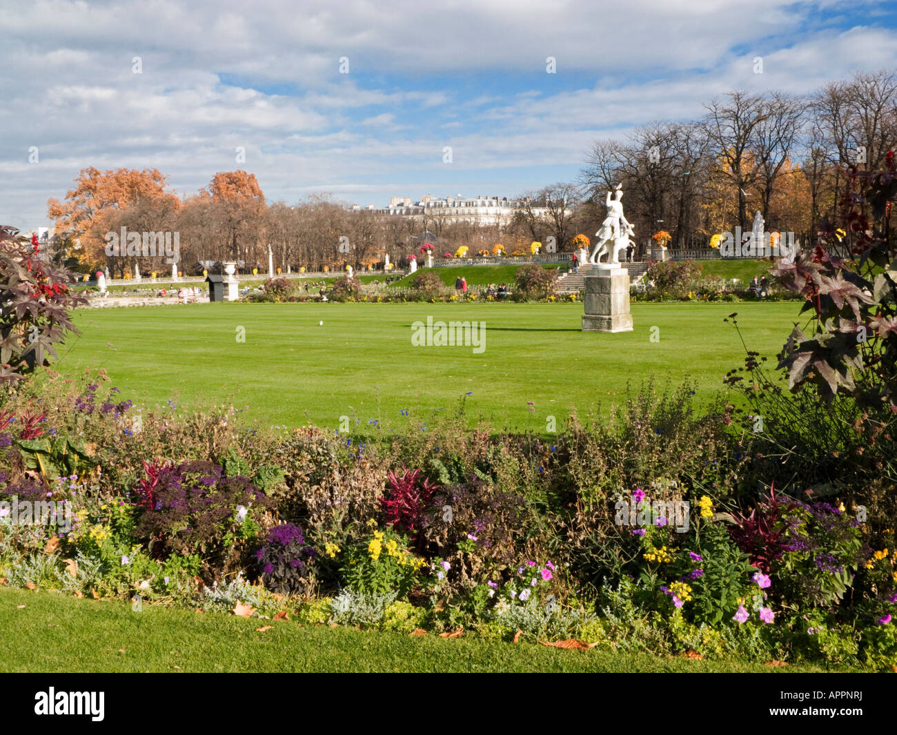 Jardin du Luxembourg Paris France Europe - Stock Image