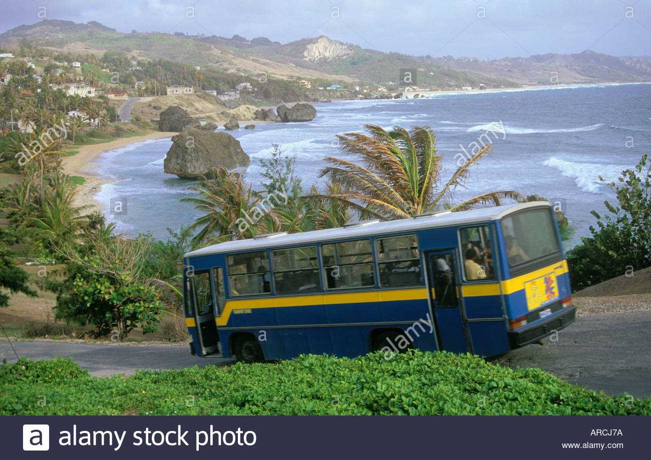public-transit-bus-at-bathsheba-on-atlan