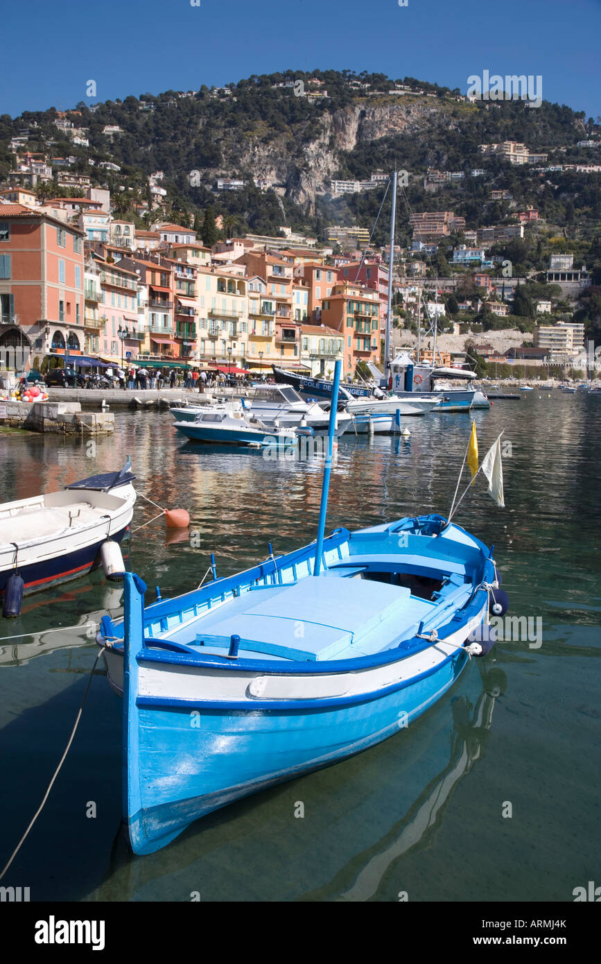 Villefranche-sur-Mer, Alpes Maritimes, Provence, Cote d'Azur, French Riviera, France, Mediterranean, Europe - Stock Image