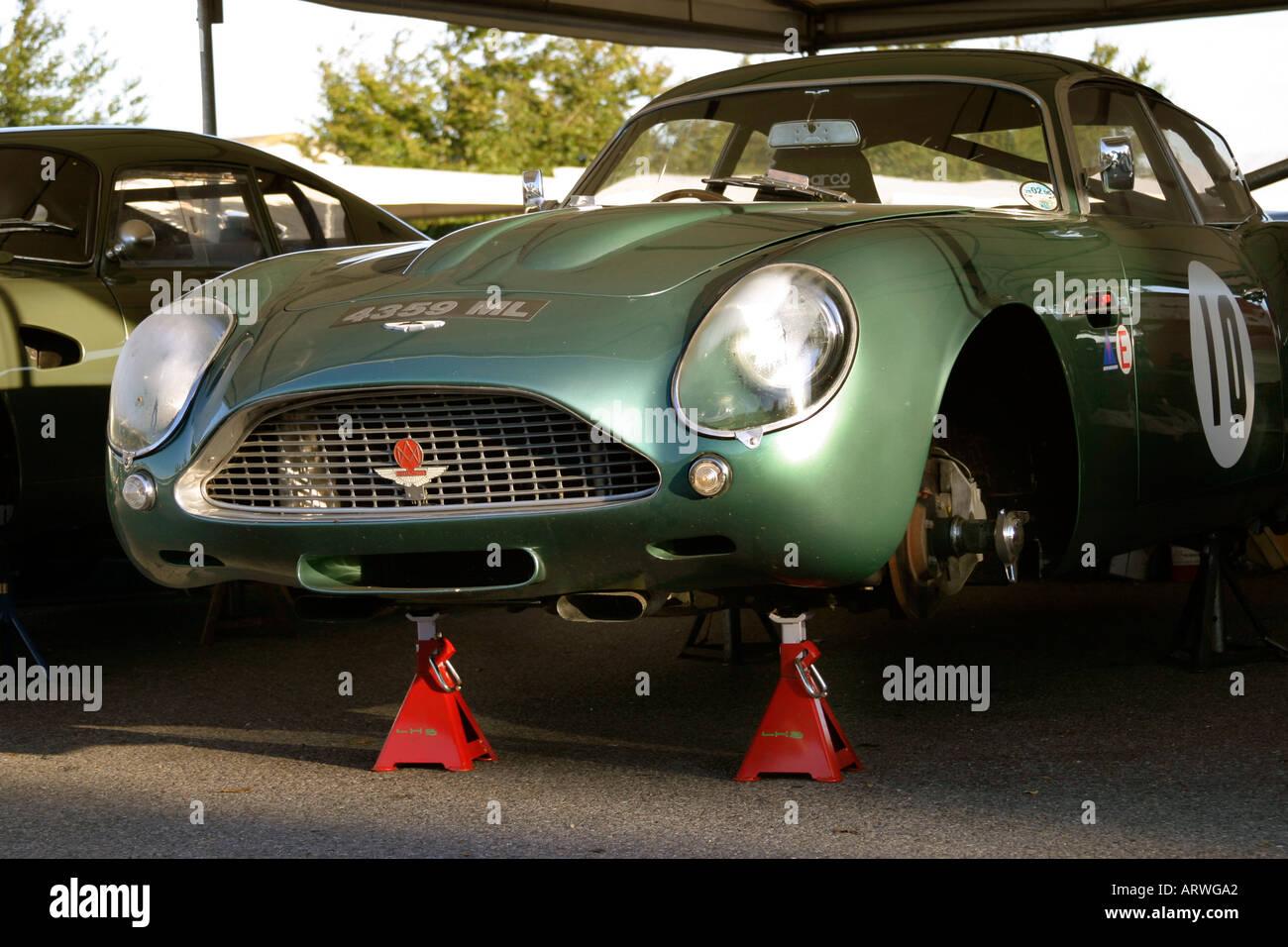 1962 Aston Martin Db4 Gt Zagato At Goodwood Revival Sussex Uk