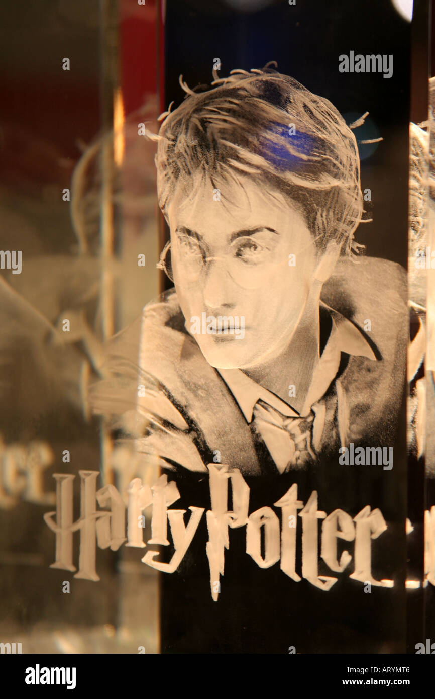 Harry Potter crystal reflecting - Stock Image