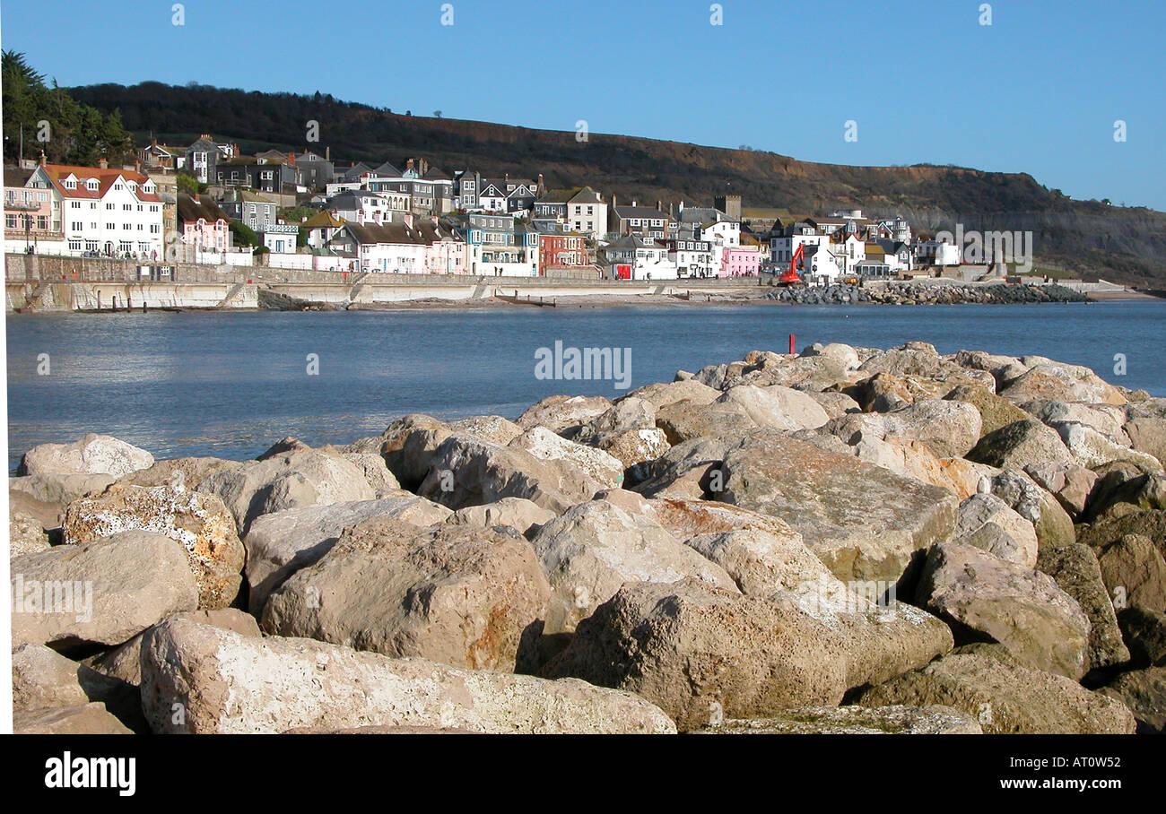 Lyme Regis Dorset England - Stock Image