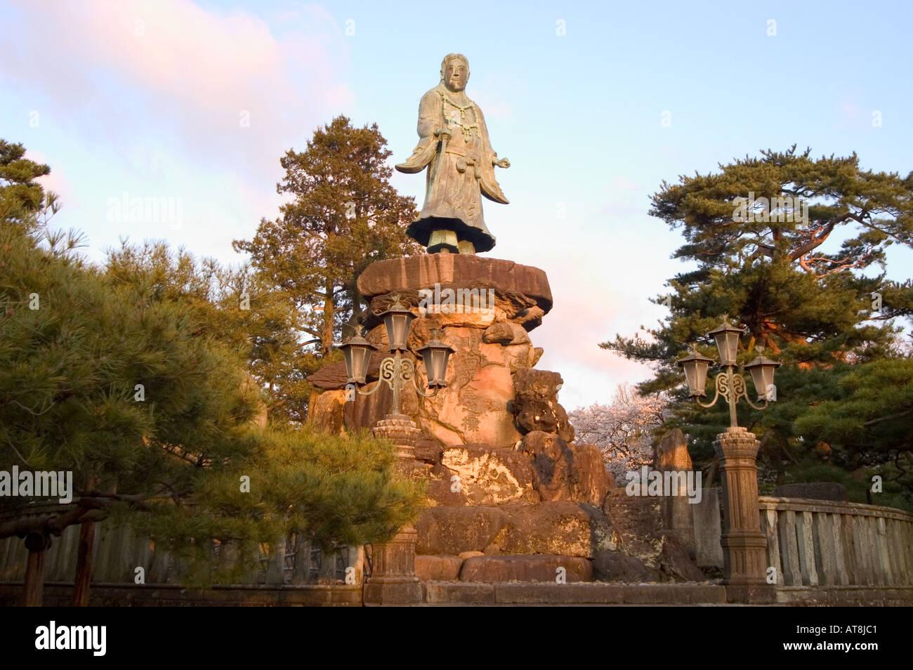 cherry blossom Kenrokuen Garden Kanazawa city Ishigawa prefecture ...
