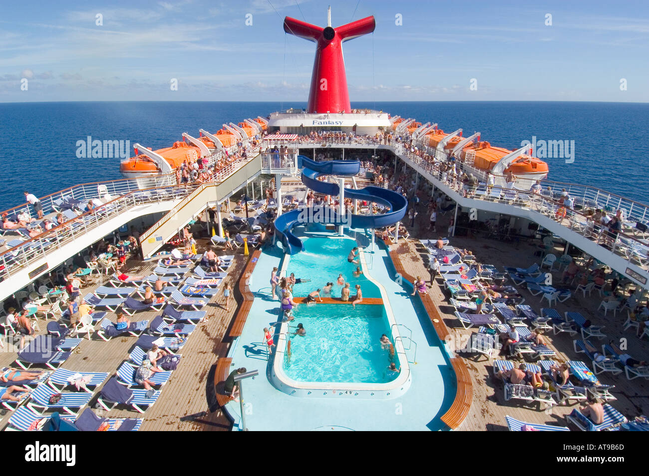 Family Activities Aboard The Carnival Cruise Ship Fantasy