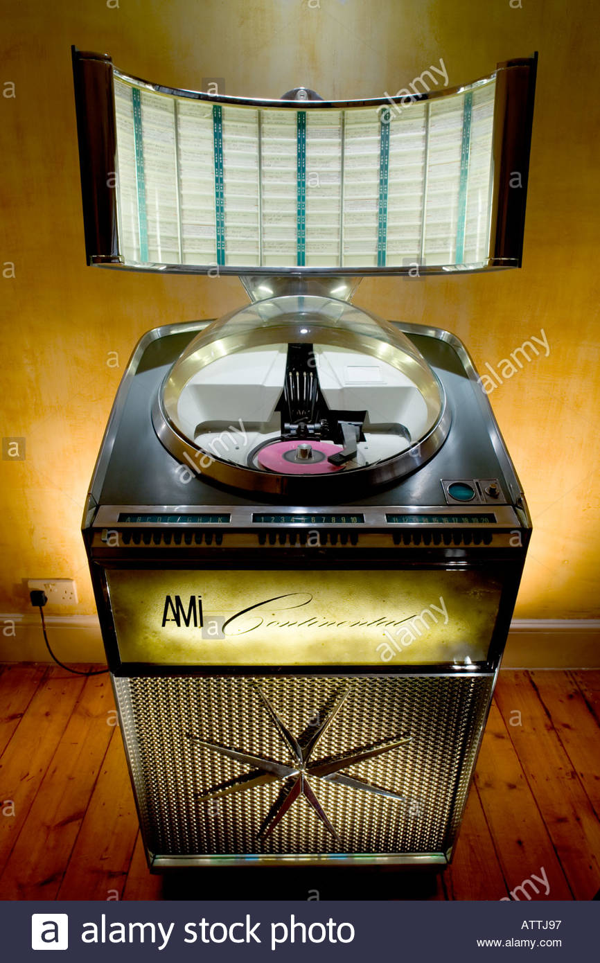 Ami Continental Jukebox Stock Photo