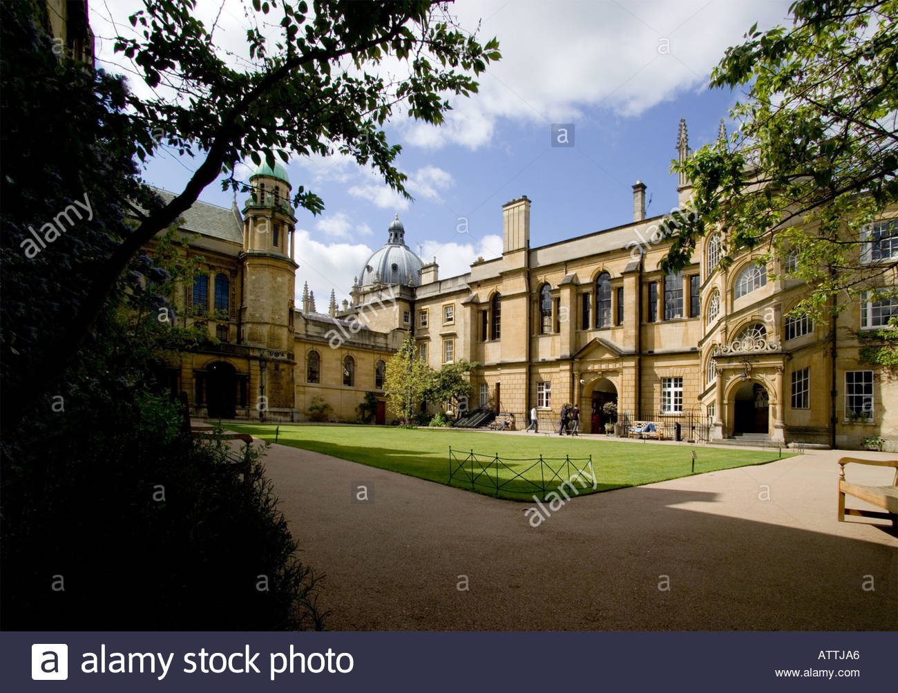Hertford College, Oxford Stock Photo