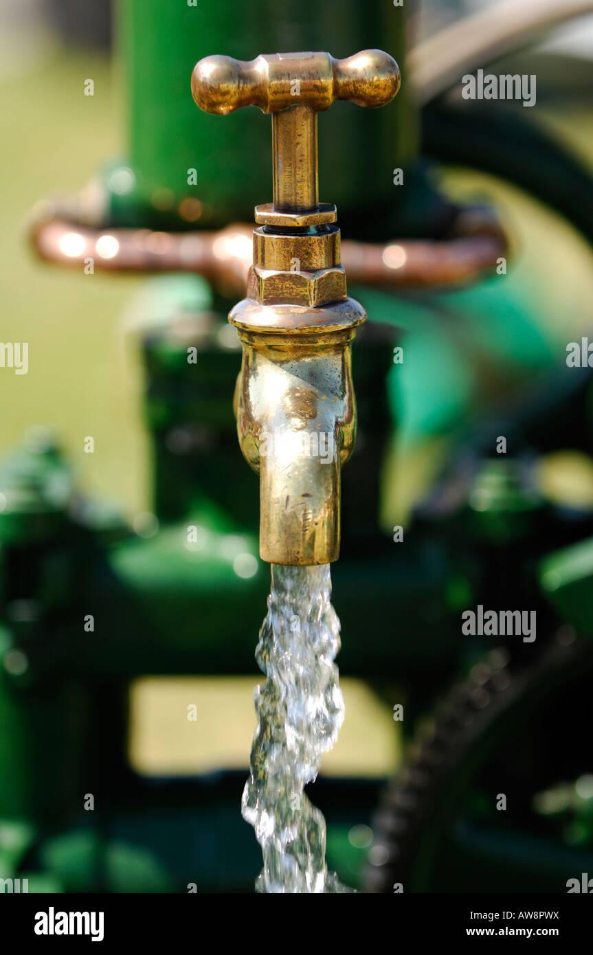Brass Tap Running Water Stock Photos & Brass Tap Running Water Stock ...