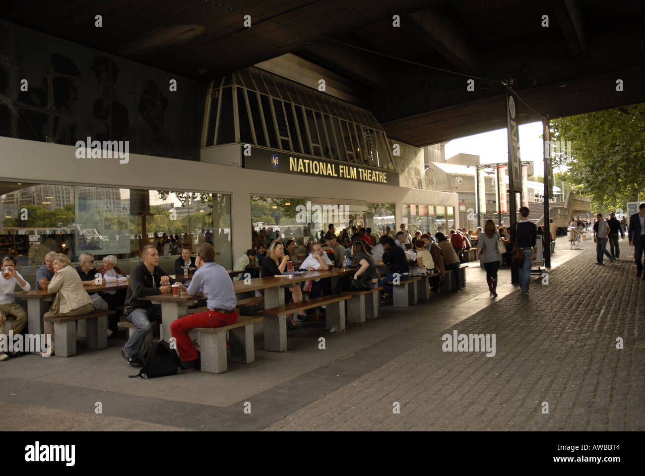 BFI National Film Theatre Southbank, London - Stock Image