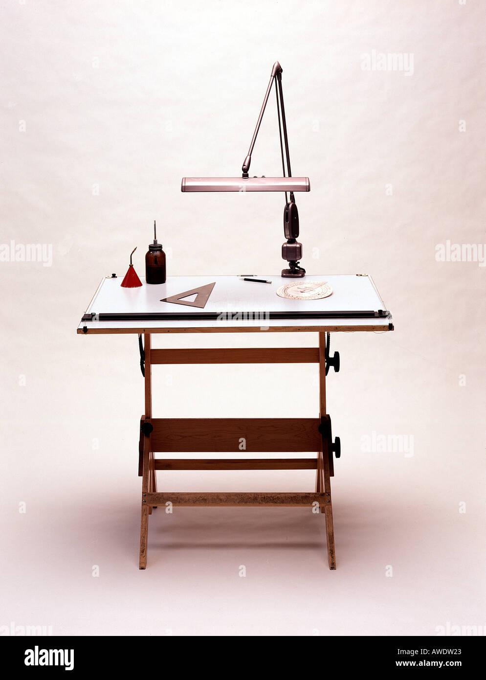 Drafting draftsman architect designer engineer work table lamp tools drafting draftsman architect designer engineer work table lamp tools triangle graphic arts desk lamp aloadofball Images