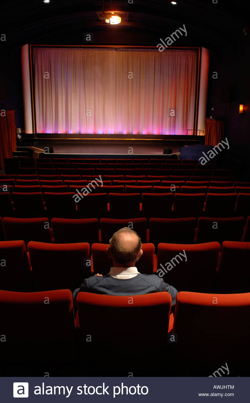 Aldeburgh cinema Suffolk UK - Stock Image