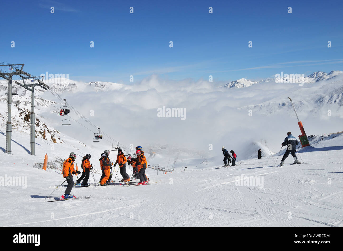 how to use t bar ski lift