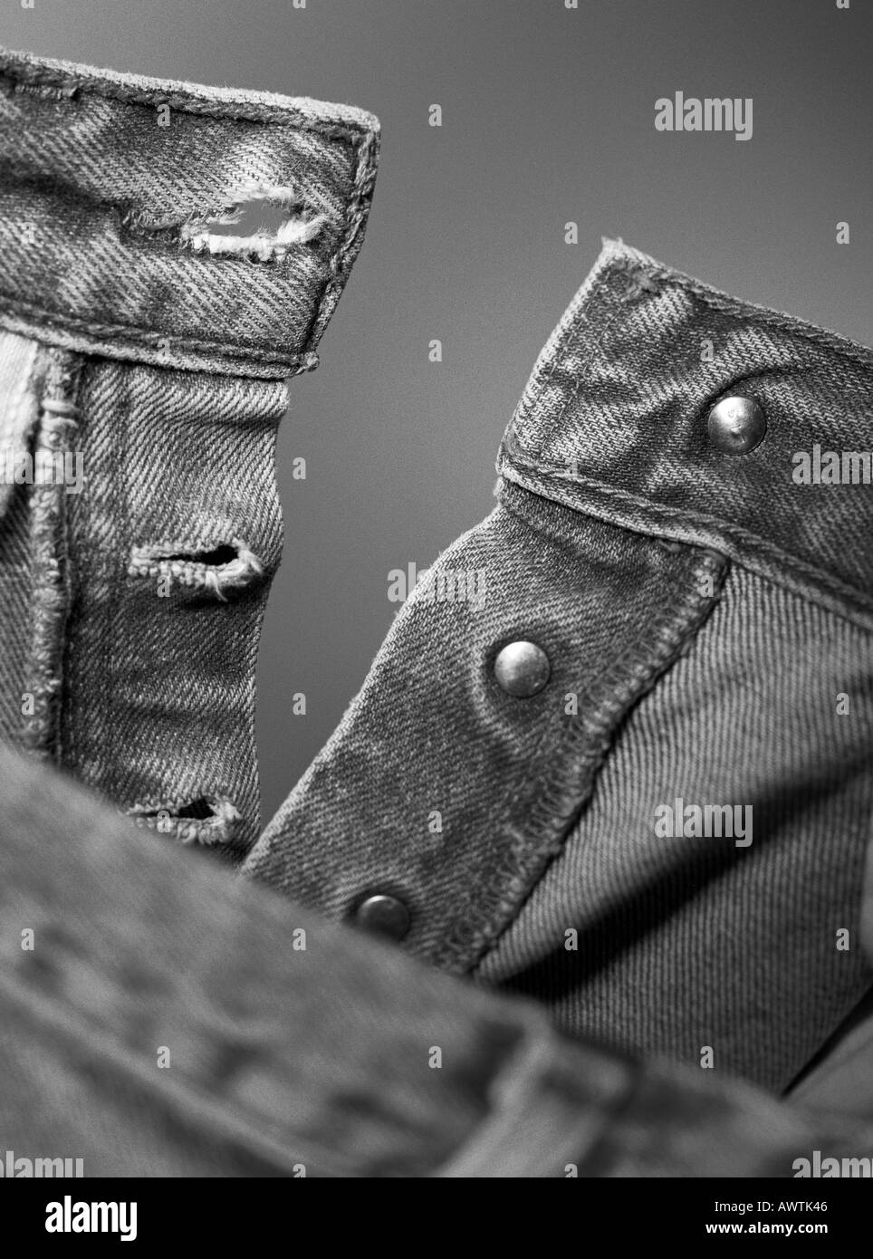 Trousers, close-up - Stock Image