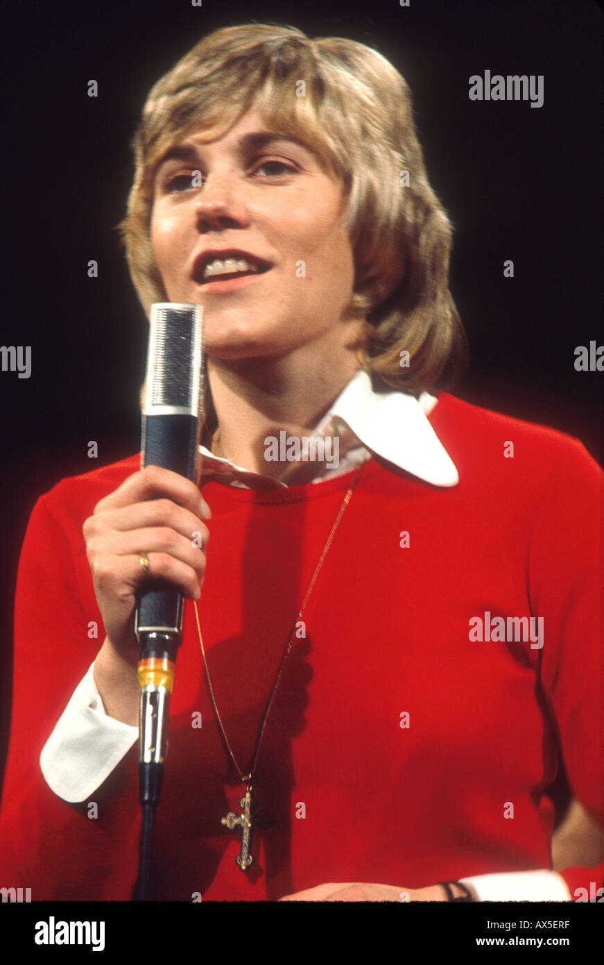 ANNE MURRAY Canadian singer about 1977 - Stock Image