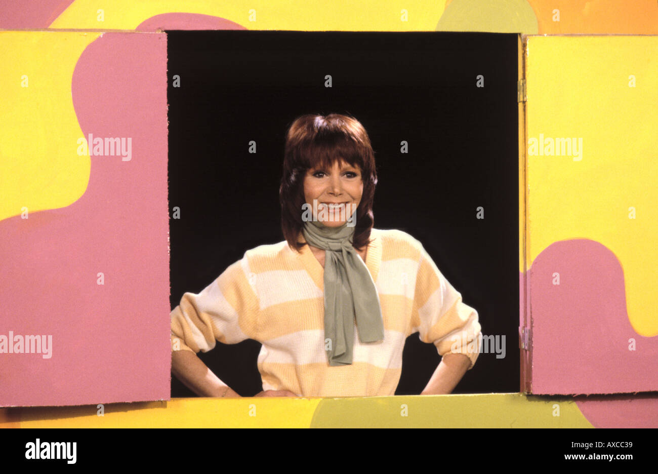 Judy Carne British actress and comedienne PER0011 - Stock Image