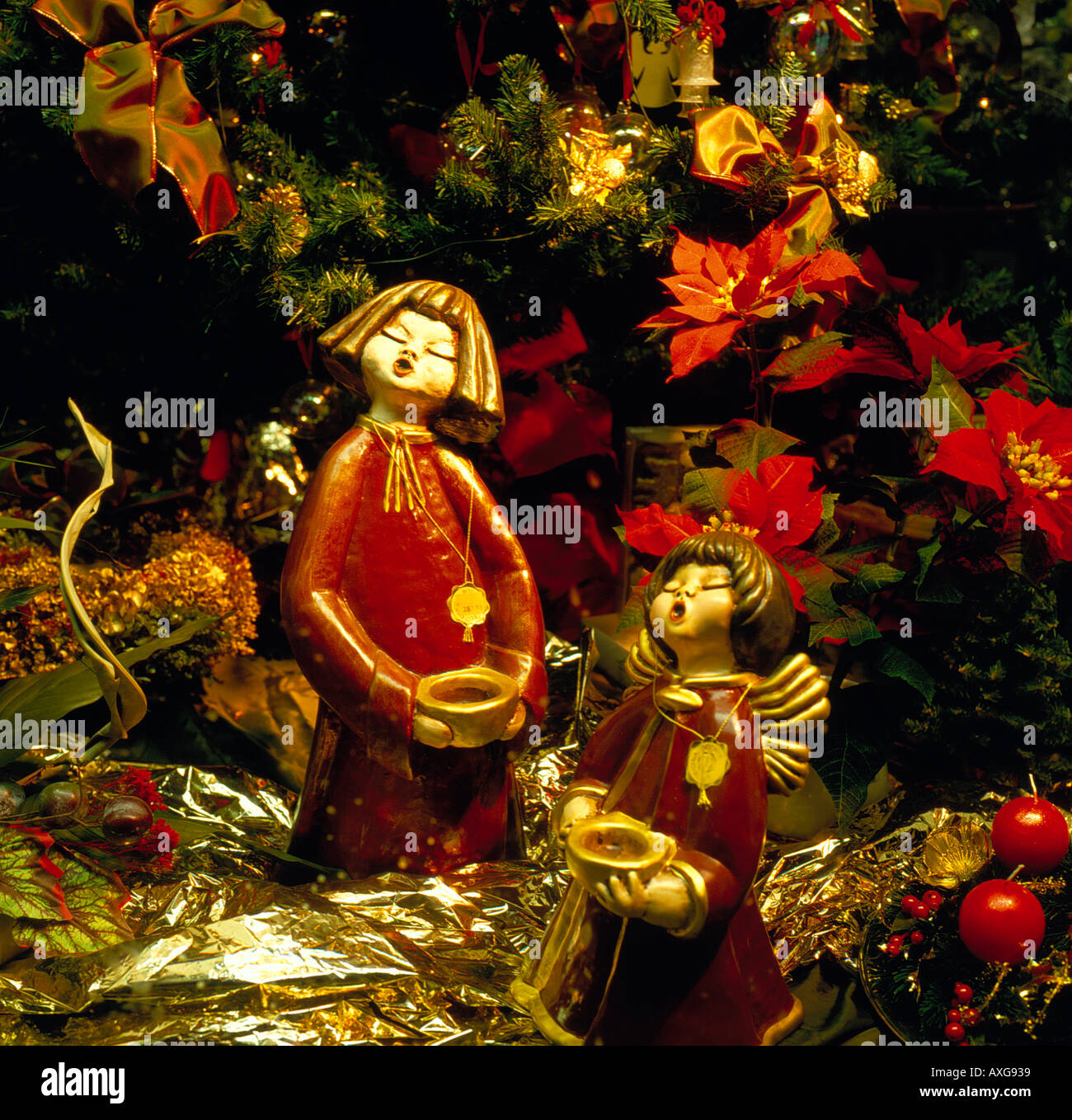 Christmas decoration. Photo by Willy Matheisl - Stock Image