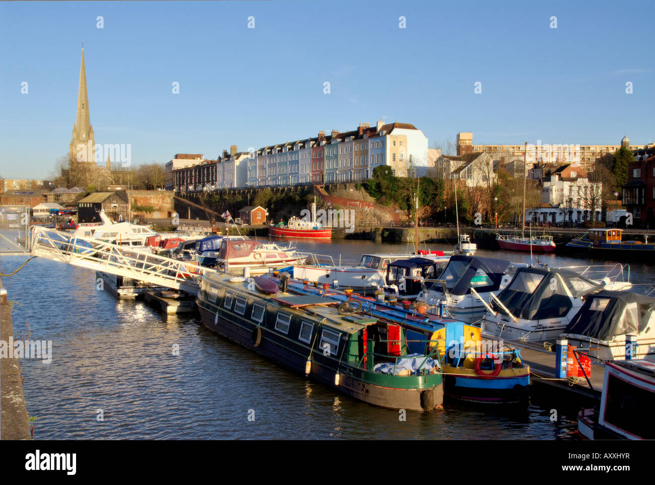 Docks, Bristol, England, UK, Europe Stock Photo