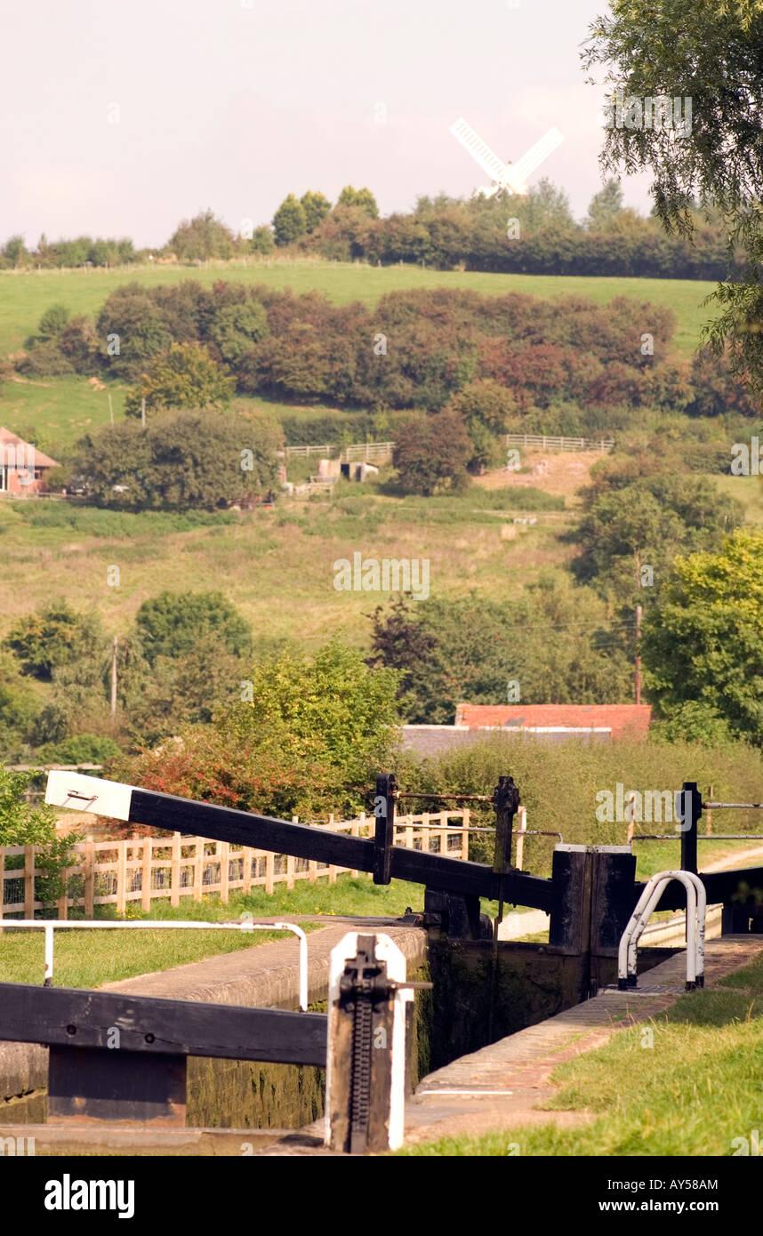Doug Blane Napton on the Hill Oxford canal - Stock Image