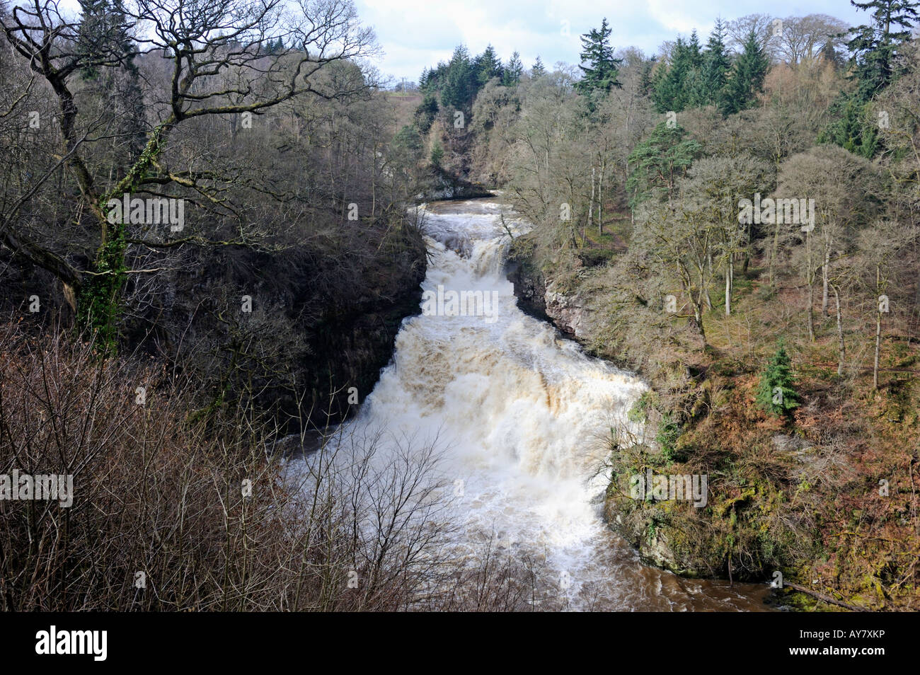 corra-linn-the-falls-of-clyde-bonnington-lanarkshire-scotland-united-AY7XKP.jpg