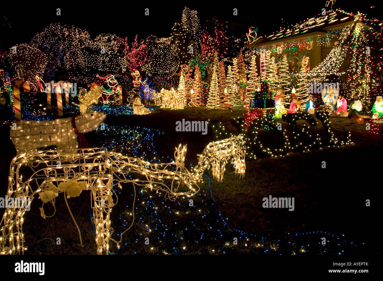 Holiday Season light display in Boise Idaho & Holiday Season light display in Boise Idaho Stock Photo: 17086338 ...