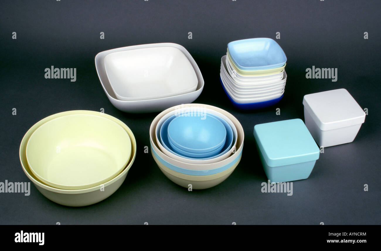 household, dishes / vessels, melamine resin bowl, set for kitchen ...