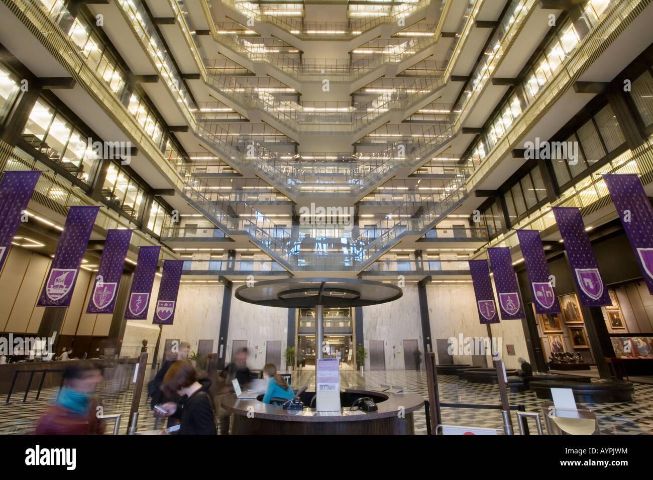 Elmer Holmes Bobst Library New York University architect Philip
