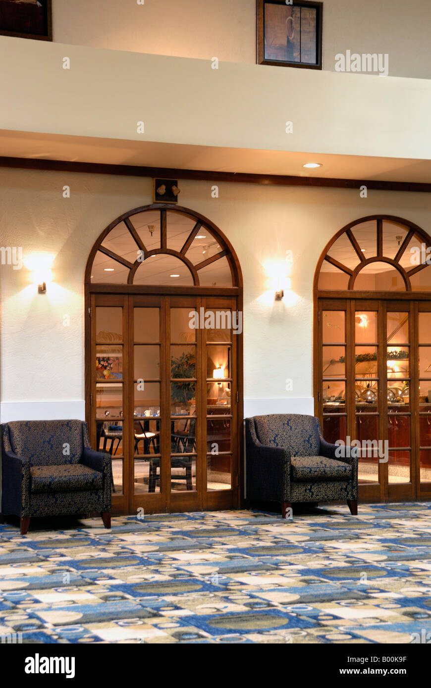Hotel Restaurant Entry Doors Stock Photo 17225531 Alamy
