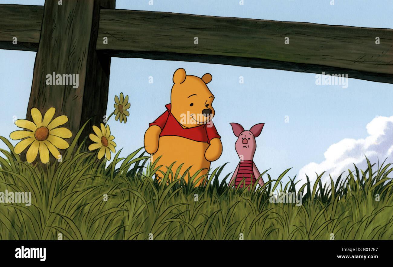 PIGLET' S BIG MOVIE  2003 Buena Vista/Disney cartoon - Stock Image