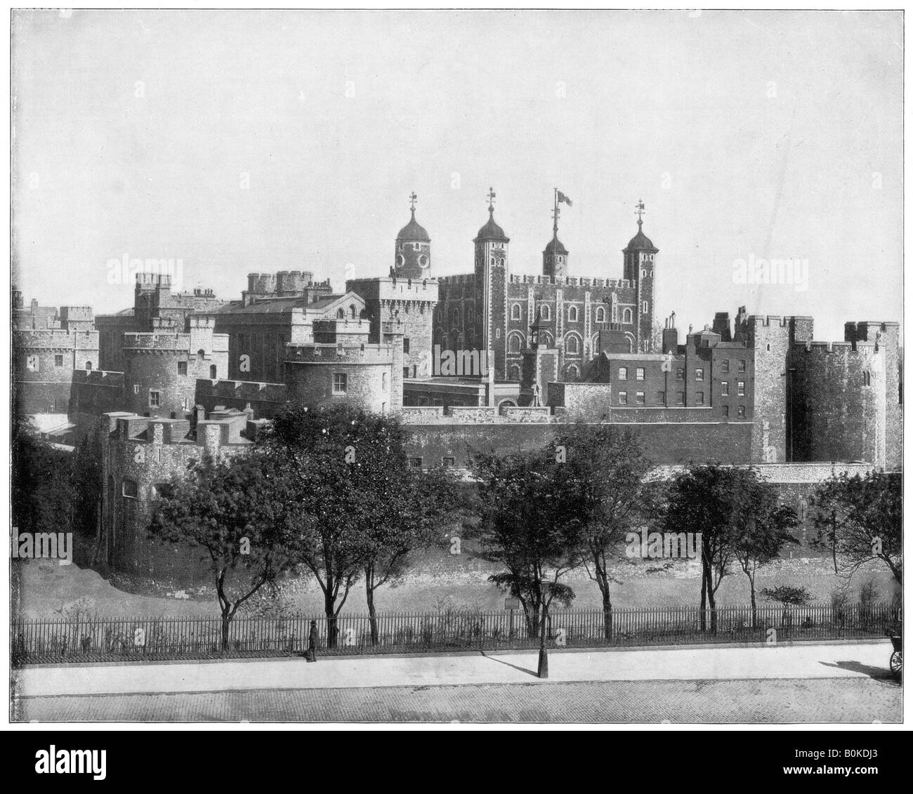The Tower Of London England Late 19th Century Artist Unknown